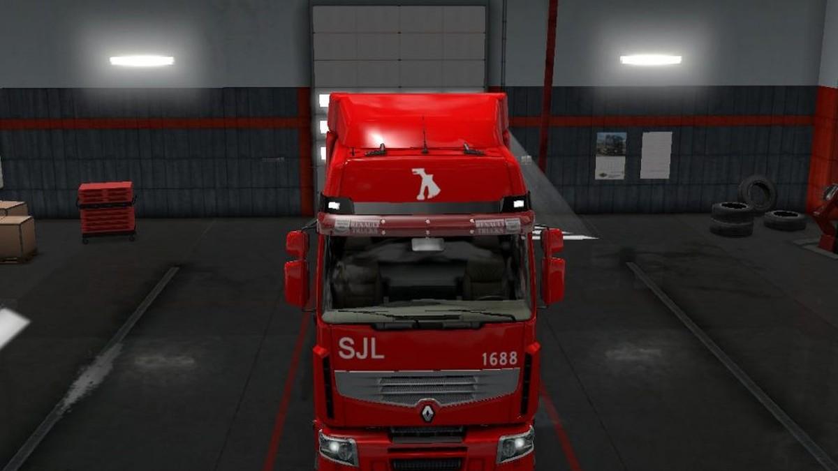 Scania RJL Maghrib Skin