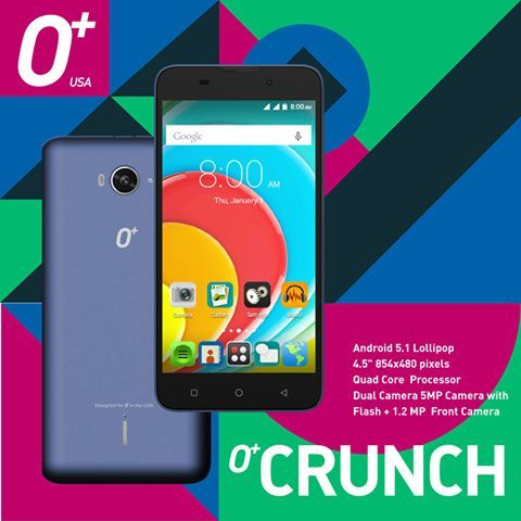 O+ Cunch: Specs, Price and Availability