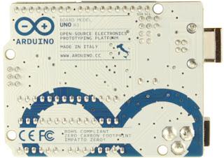 Arduino UNO | Parte trasera