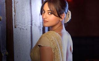 Sonakshi Sinha Hot Desi Look Desktop Best Wallpapers