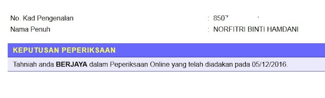 peperiksaan online n29, berjaya peperiksaan, panduan peperiksaan online