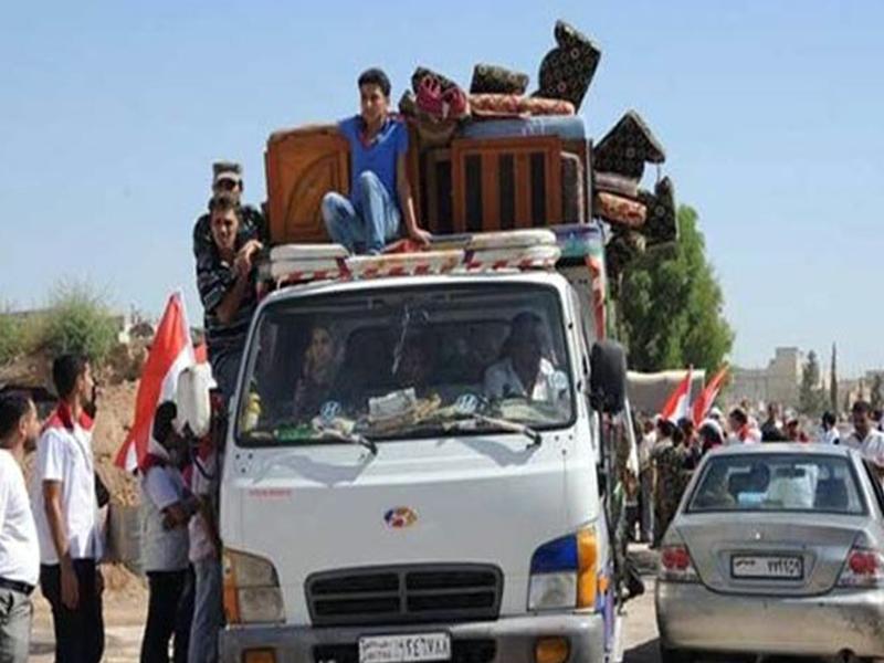 Retornan pobladores a zonas liberadas al sur de capital siria