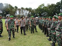 Pangdam XIII/Merdeka Pimpin Apel Gelar Pasukan Pengamanan Presiden.