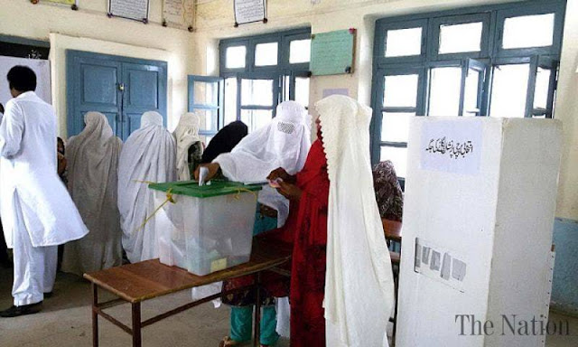 Women cast their votes for the first time in Upper Dir