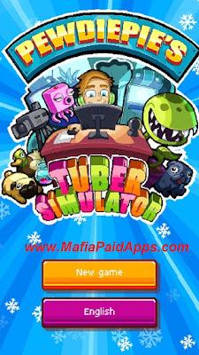 PewDiePie's Tuber Simulator Mod (unlimited money) Apk MafiaPaidApps