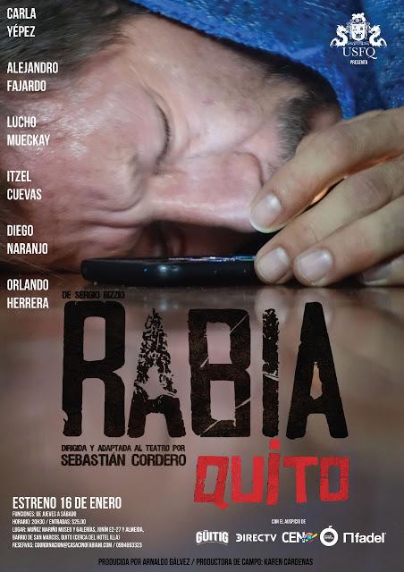 RABIA la obra teatral llega a Quito presentada por la USFQ