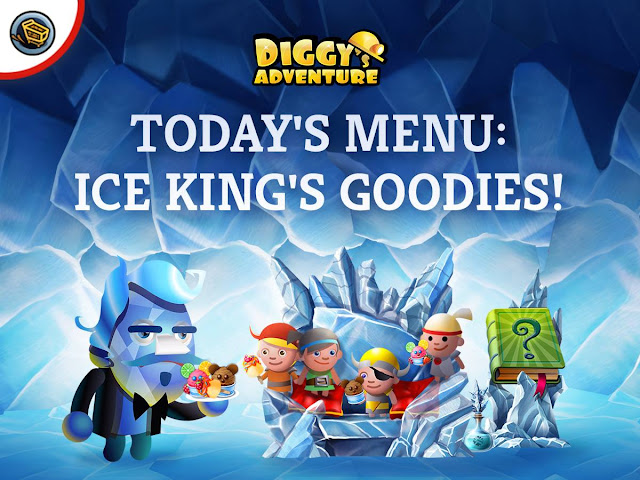 Diggy's Adventure Ice King Solutions & Walkthrough