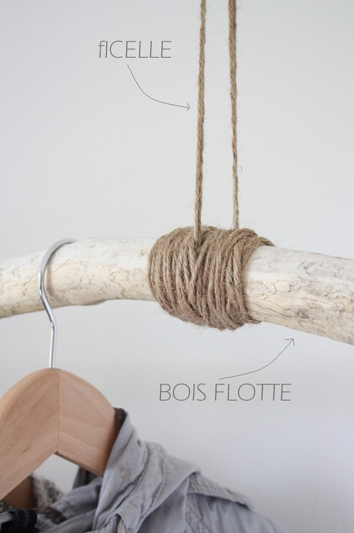 plut t que de laisser le bois au naturel vous pouvez galement donner du peps cette branche. Black Bedroom Furniture Sets. Home Design Ideas