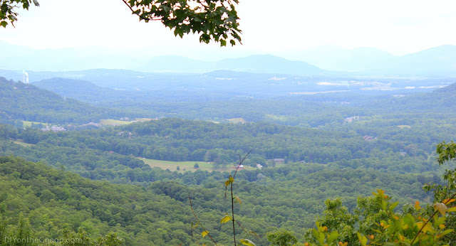 Blue Ridge Mountains {DIYontheCheap.com}
