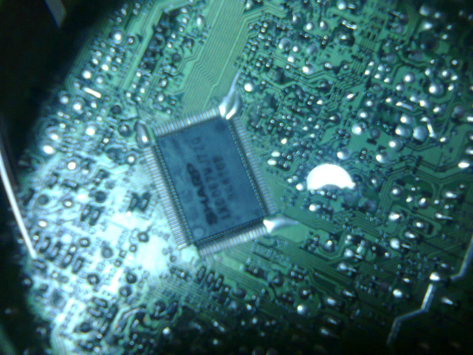 Solder Pecebeq  Data Pin Protec    sharp    picolo IXD067wjzzq