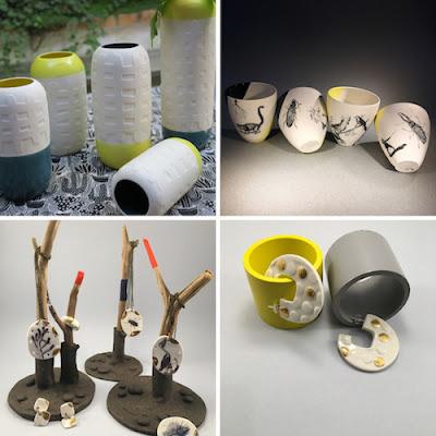 Vente créateurs 7 décembre Paris à l'ouest et la ceramique ecart type