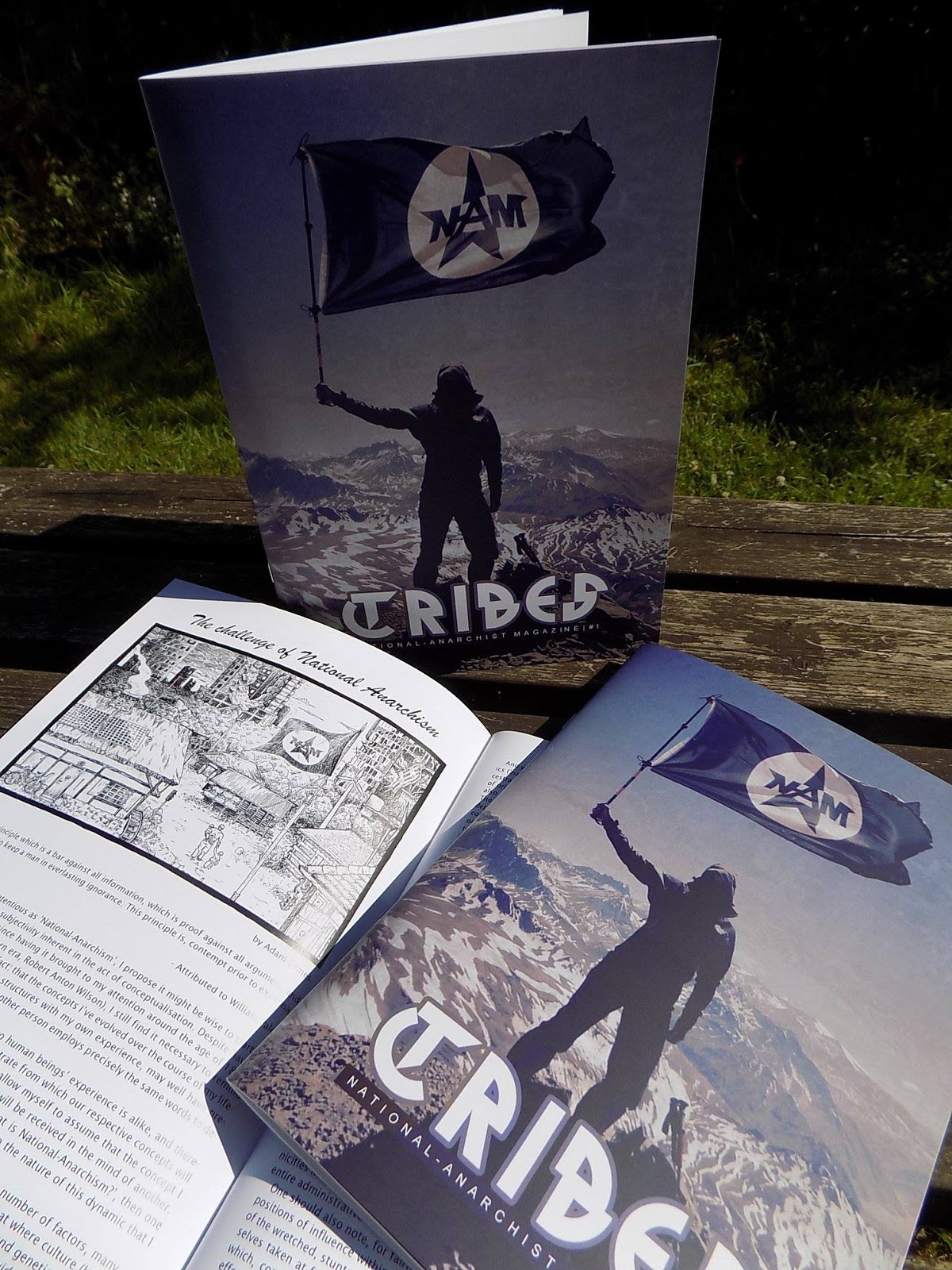 national anarchist movement tribes magazine now available
