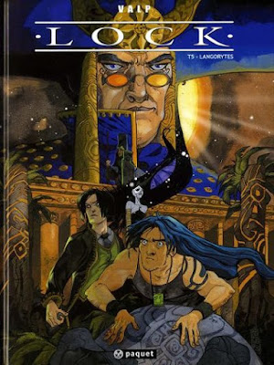 """Lock Tome 5 """"Langorytes"""" éditions Paquet"""