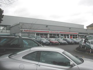 Westover Motors, 16-18 Poole Road in 2003
