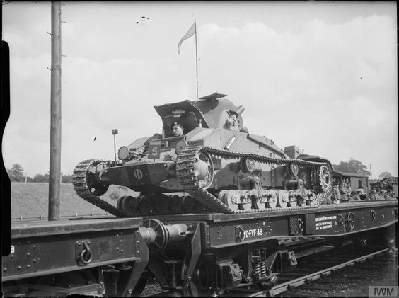 22 July 1940 worldwartwo.filminspector.com Matilda Mk I Tank