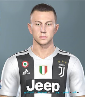 PES 2019 Faces Federico Bernardeschi by Shenawy