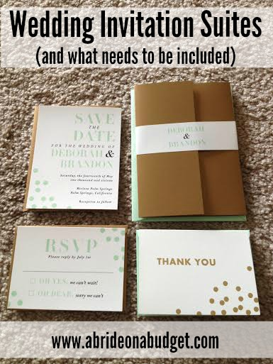 Your Wedding Invitation Isnu0027t The Only Component Of Your Wedding Invitation  Suites. This