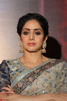 Sri Devi in designer saree stunning beauty at the launch of MOM movie Trailer~  Exclusive 066.JPG