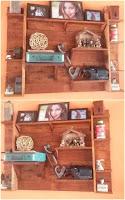muble para decoracion con pallets de madera desarmados