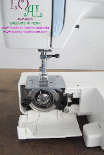 caja de bobina alfa 1203 canillero maquina de coser