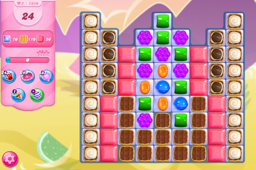 Candy Crush Saga level 7848