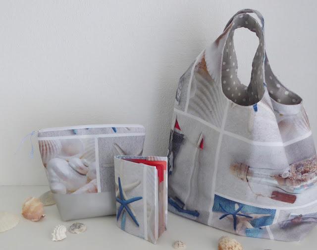 mit Strich und Faden: Sommertaschen |Passhülle