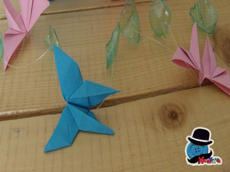 Come fare farfalle origami