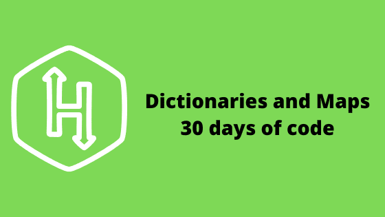 Dictionaries and Maps problem solution - 30 days of code HackerRank