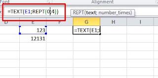 Cara Menampilkan Angka Nol di Depan Data Excel