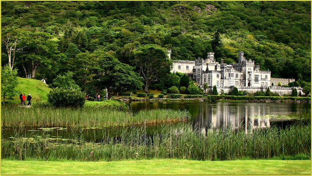 Kylemore abbey collage