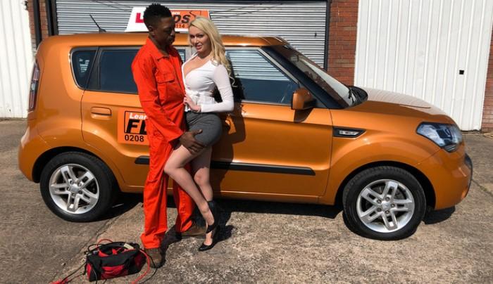 UNCENSORED Fake Driving School – Amber Jayne Longwood goes deep into Amber Jayne, AV uncensored