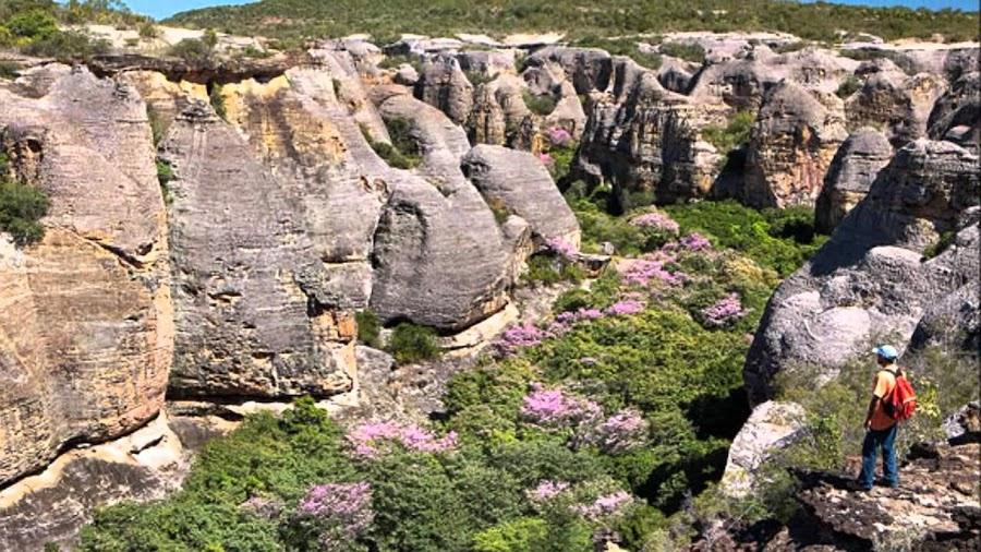 Las curiosas formaciones del Parque Nacional Siete Ciudades, Brasil