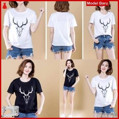 GFSH3039303 Setelan Gf Tee Terbaru Deer Keren BMG