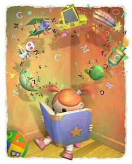 Resultat d'imatges de dibujo prestamo de libros