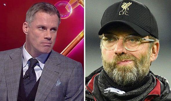 Jurgen Klopp and Liverpool Legend Jamie Carragher