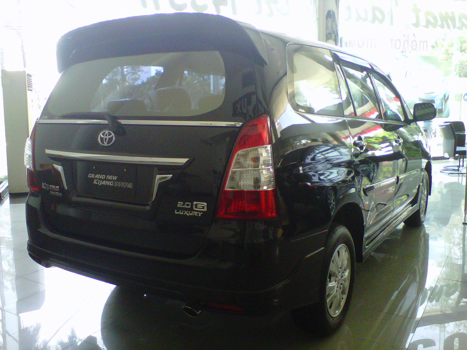 Harga Dan Spesifikasi All New Kijang Innova Toyota Grand Veloz 1.3 Type J
