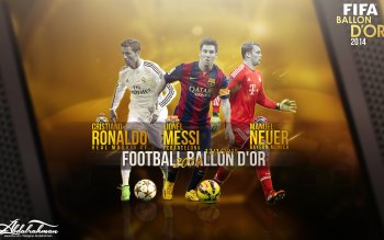 Wallpaper: FIFA Ballon dOr 2014