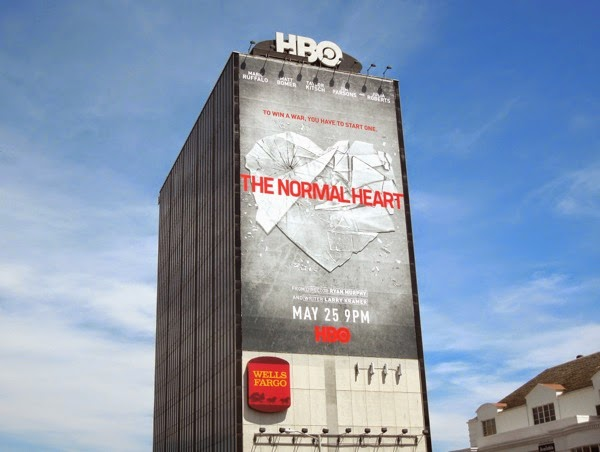 The Normal Heart giant HBO movie billboard