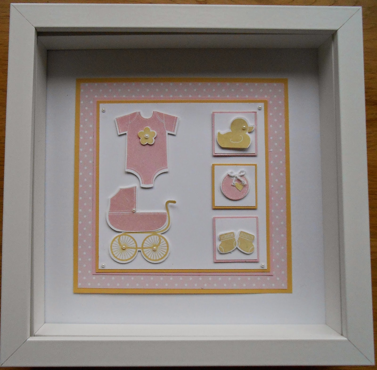 Baby Bedroom In A Box Special: Linda's Craft Room: Something For Baby Box Frames