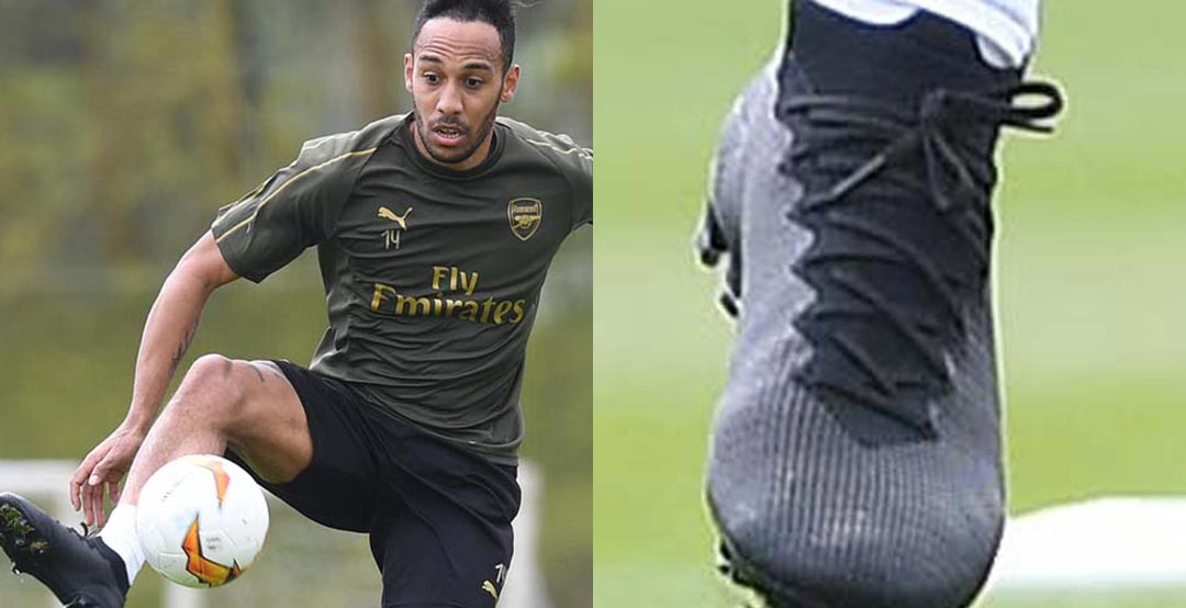 5891ba98d Arsenal s season is not over yet as they will face Chelsea in the Europa  League final - Aubameyang will wear the current-gen Mercurials in that  match