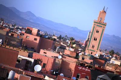Tejados de Marrakech