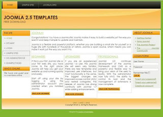 3 column joomla 2.5 template