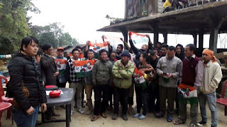 30 houses gjm supporters joins tmc in labdah busty