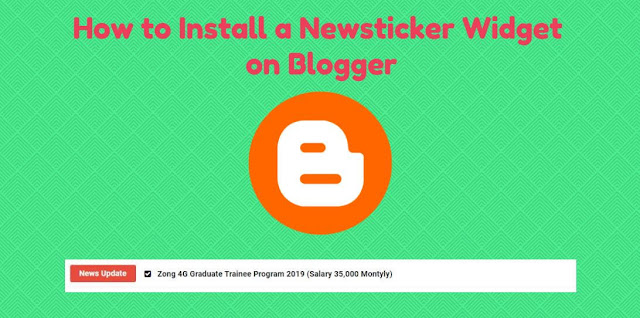 Hello and welcome to GetWebinfo.Com. Here on this post you can be able to find out Latest Newsticker Widget on Blogger. This time i will share a great tip with you that How to Install a Newsticker Widget on Blogger. I Share the newsticker widget because there is a request from Blogger friend and incidentally yesterday i updated the origin SEO pro template, so there is no harm in me i share one of the Pro features of the template because the source code blog demo feature intentionally open for resins for posting this.