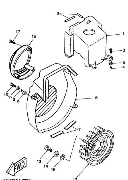 Yamaha BWS Next Generation CW50RS User manual | Service