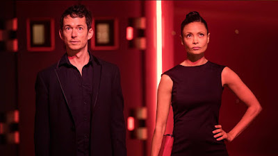 Westworld Season 2 Thandie Newton and Simon Quarterman Image 2