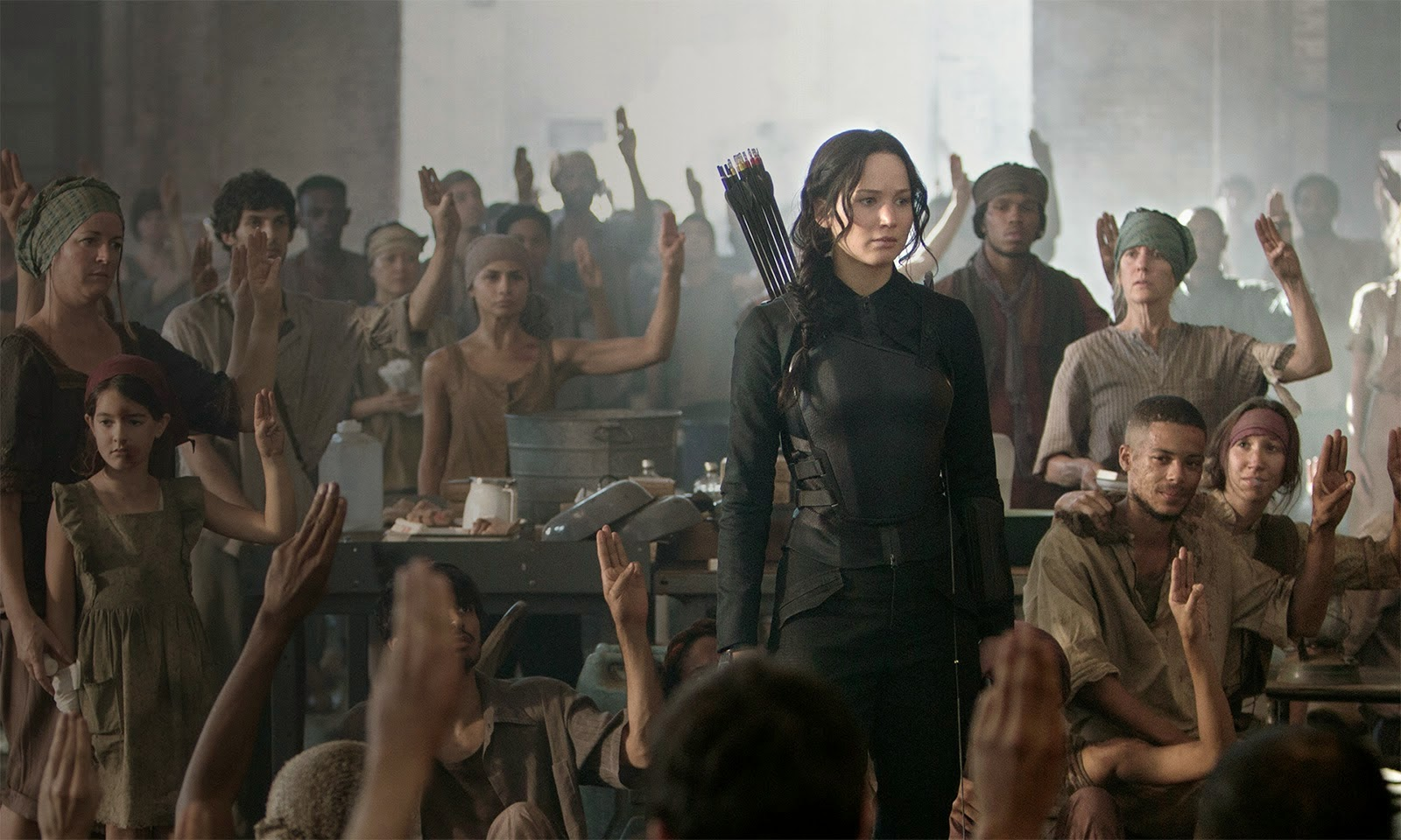 Hunger Games - Mocking Jay Part 1 Movie Stills