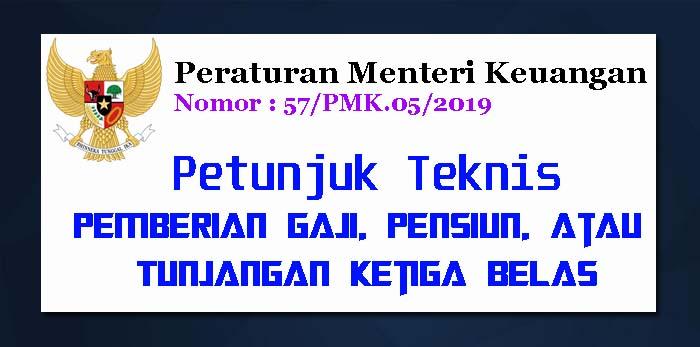 PMK Nomor 57 Tahun 2019