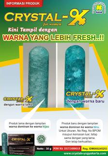 Gambar Ciri-Ciri Crystal X Asli