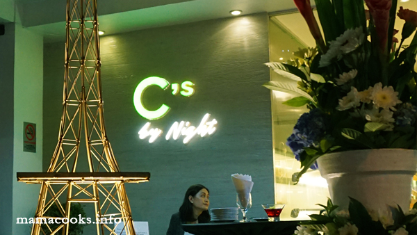 Cs by Night - L'Fisher Hotel - Bacolod restaurants